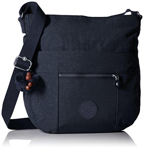 Kipling Bailey True Blue Tonal Saddle Bag Handbag, True Blue t by Kipling
