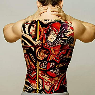 2pcs Hombres Halloween Tatuaje Zorro niña Moda Apliques 2pcs ...