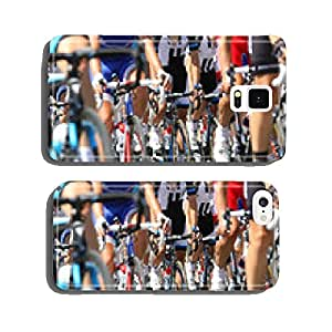 bicycle racing wheels during the cycle road race cell phone cover case iPhone5