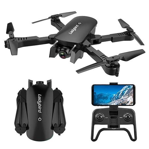 YWT GPS Drone Drone Plegable con cámara 4K HD Vídeo en Vivo RC ...