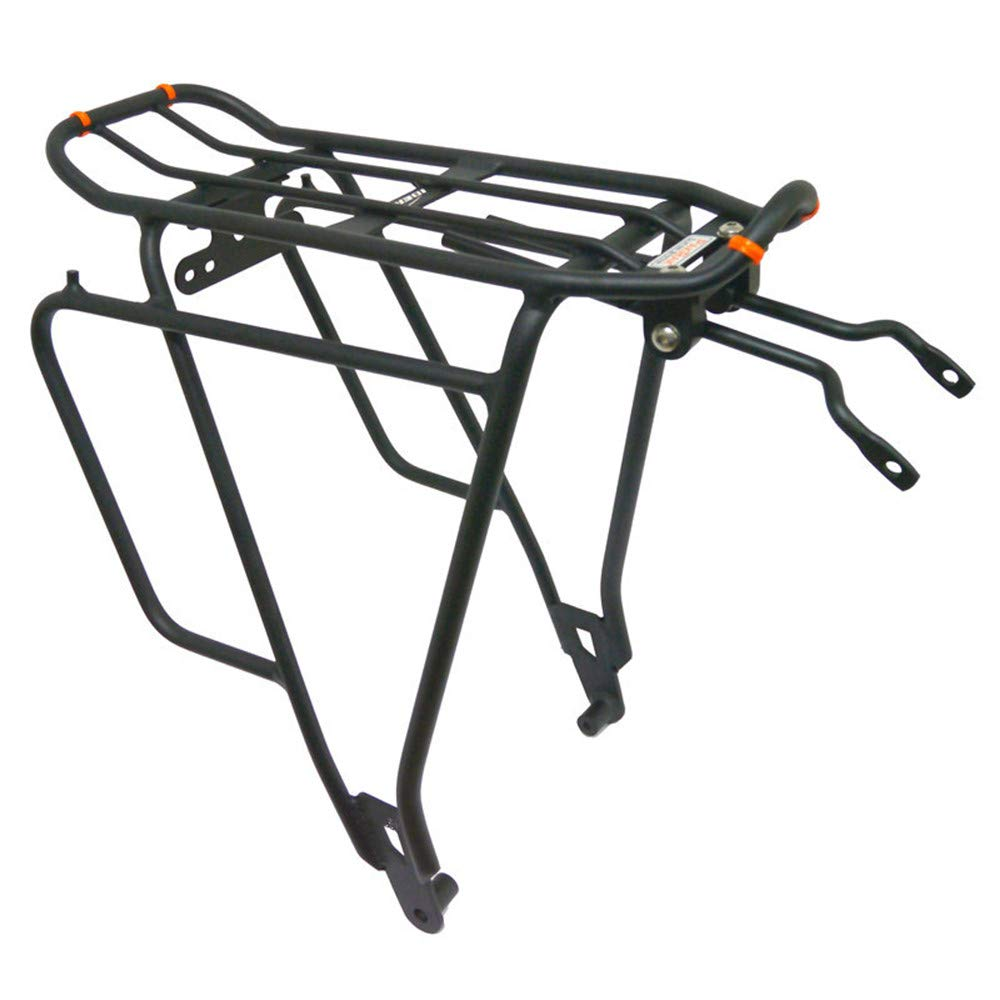 Cycling Rear Bicycle Bike Bag Luggage Cargo Rack Seat Post Mount Carrier Black