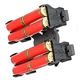 Safariland Model 086 Shotgun Shell Holder, Black - 086-8-2-MS34 8 Shells ELS 34 Fork