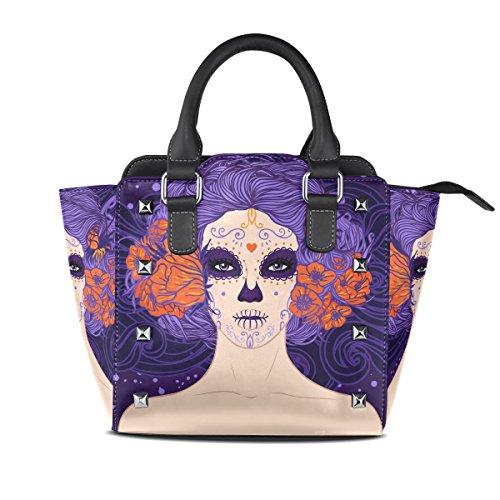 Para Multicolor Aurelior Bolsos Del Hombro Mujeres 4w41SqB