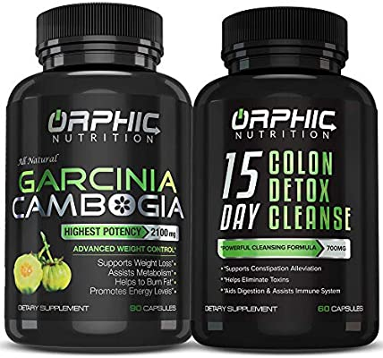 Amazon Com Garcinia Cambogia Extract Colon Cleanser Detox 90