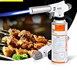 Culinary Torch - Creme Brulee Torch - Kitchen Torch - Best Creme Brulee Torch - Food Torch - Cooking Torch - Cooking Blow Torch - Brulee Torch - Butane Torch For Cooking - Blow Torch (style B)