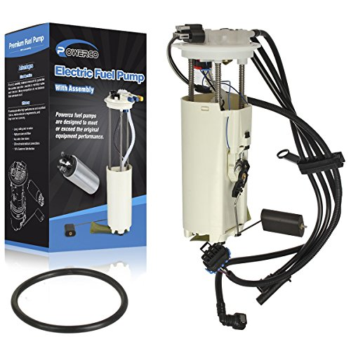 Electric Gas Fuel Pump Module Assembly E3918M /P74826M with Float, Reservoir, Strainer, Upgraded Harness and Tank Seal Replacement for Buick Skylark L4-2.3L 2004-2005 Buick Skylark Fuel Strainer