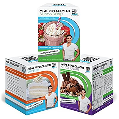 Yes You Can! Diet Plan: Meal Replacements Pack Up to 2 Meals a Day, Helps Lose Weight