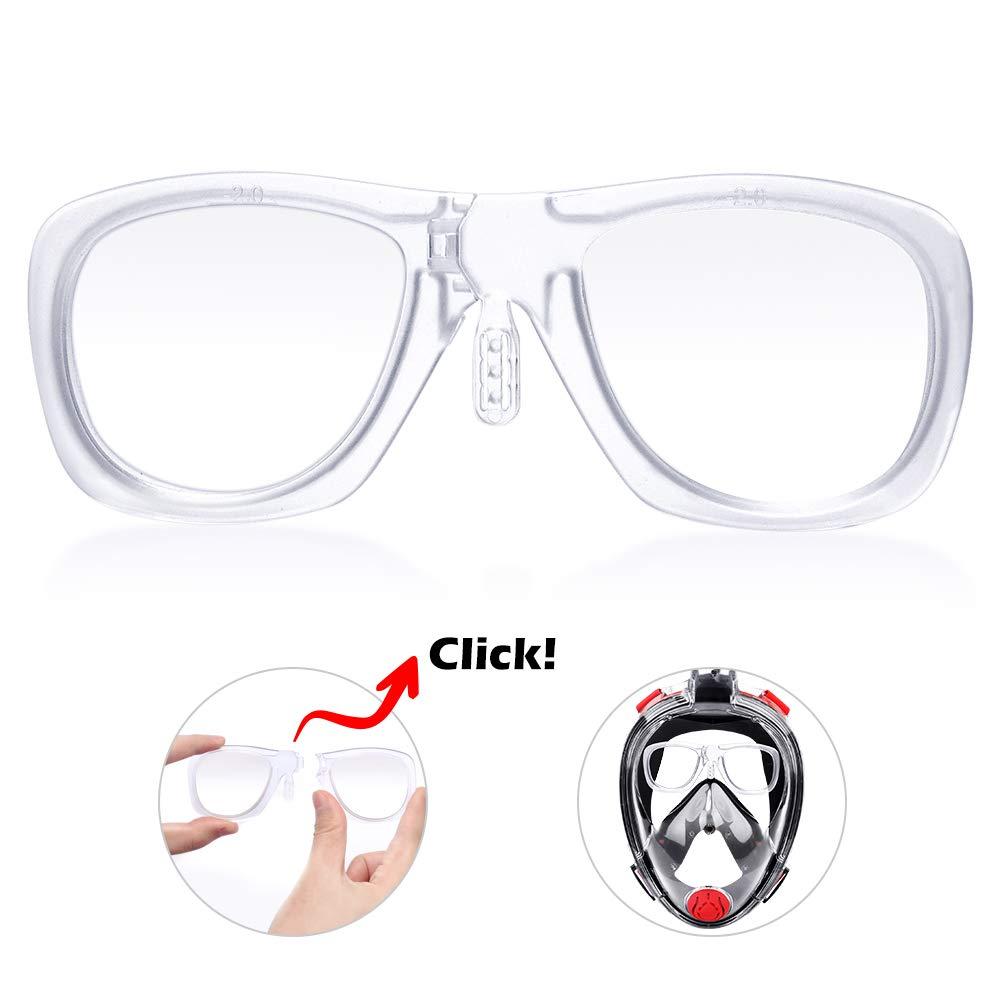 HENGBIRD Optische Linse 3.0 Tauchmakse