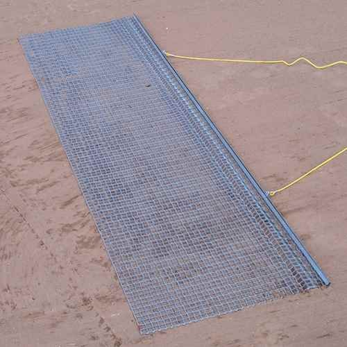 Drag Mat with Steel Mesh Mat by Jaypro Sports
