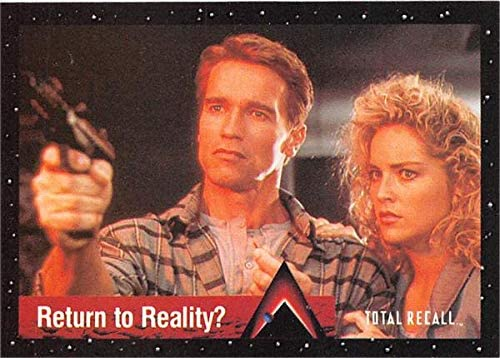 Sharon Stone Arnold Schwarzenegger Trading Card Total Recall 1990 Pacific 60 Douglas Lori Quaid At Amazon S Entertainment Collectibles Store