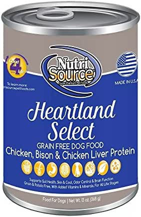 Dog Food: NutriSource All Life Stages Canned Food Grain Free