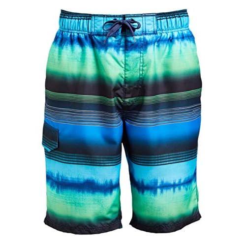 Regular /& Extended Sizes Kanu Surf Mens Apollo Swim Trunks