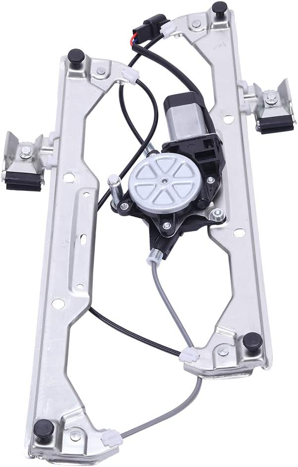 MILLION PARTS Front Right Passenger Side Power Window Lift Regulator with Motor Assembly Replacement Fit for 2006 2007 2008 2009 2010 2011 Chevrolet HHR