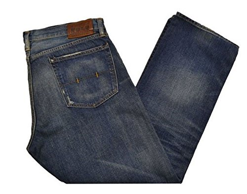 Polo Ralph Lauren Mens Five Pocket Jeans (Stratford Distressed, 33X30)