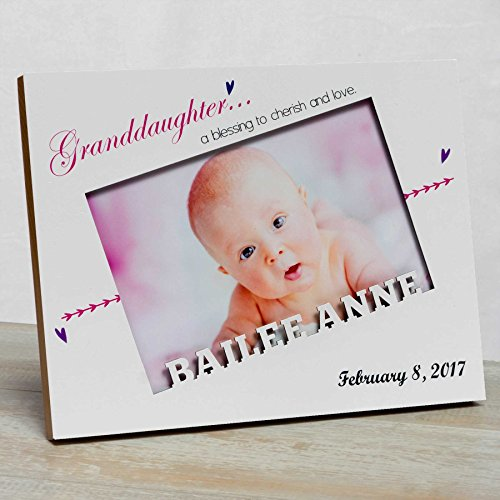 Personalized Baby Picture Frame, Baby Girl Picture Frame, New Baby ...