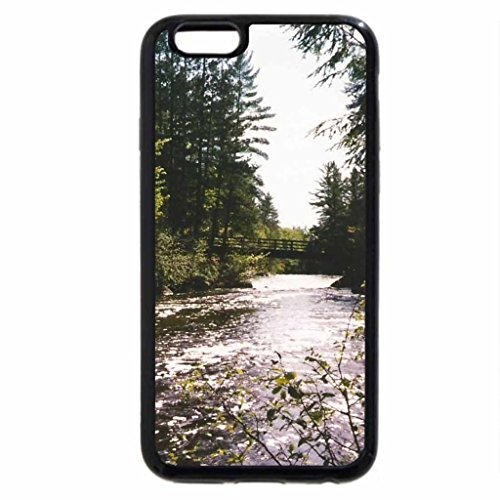 iPhone 6S Case, iPhone 6 Case (Black & White) - Daves Falls Park