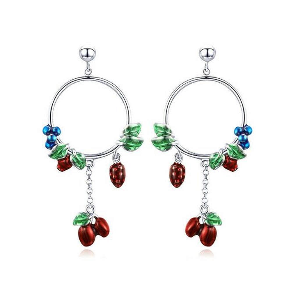 Silver Heart Earrings Ethnic Gypsy Jewellery Hippy Boho Dangle