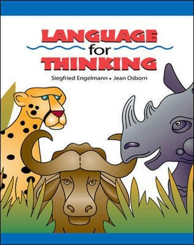 Language for Thinking, Student Picture Book (DISTAR LANGUAGE SERIES) by McGraw-Hill Education