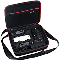 Smatree Carrying Case for DJI Spark Drone,Fit for Drone Batteries, Remote Controller Propeller Guard, Battery Charger and other accessories