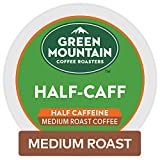 Green Mountain Coffee Roasters Half-Caff Keurig Single-Serve K-Cup Pods, Medium Roast Coffee, 72 Count