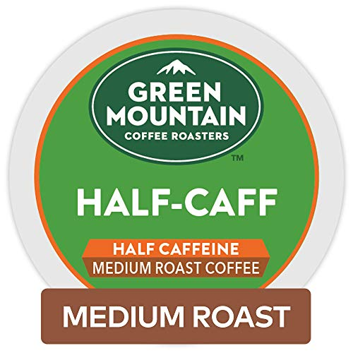 Green Mountain Coffee Roasters Half-Caff Keurig Single-Serve K-Cup Pods, Medium Roast Coffee, 72 Count ()