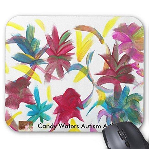 ECO-Pad Candy Waters autismo artista cojín de ratón: Amazon ...
