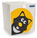 Foldable Cube Storage Bin Box for Nursery or Kids Toys (Cat)