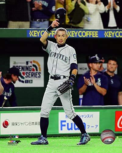 """Mariners Ichiro Suzuki Final Game 8"""" x 10"""" Baseball Photo"""
