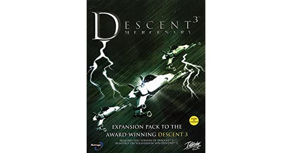 Descent 3 Mercenary [Importación Inglesa]: Amazon.es: Videojuegos