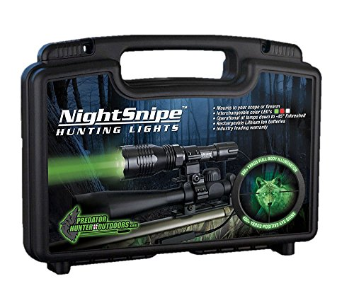 Class-1 NightSnipe Hunting Light Kit (Green) by Night Sniper (Image #8)