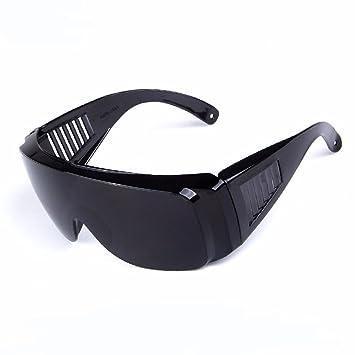 ZDQ Gafas De Seguridad Indirect Transpirable Scratch + Anti-Fog Coating con Lente De Policarbonato Transparente Gafas De Seguridad Gafas De Soldar Gafas ...