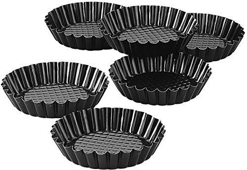 Zenker Non-Stick Mini Tart Pans, Set of 6