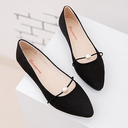 dc899304ae1e Amazon.com  Women Office Flats Boat Sandals Low Heel Flat Shoes Wedge  Slippers Hemlock (US 8.5