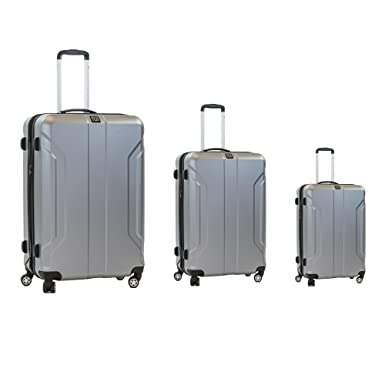 Amazon.com | ful Luggage Payload 3 Piece Luggage Set, Spinner ...