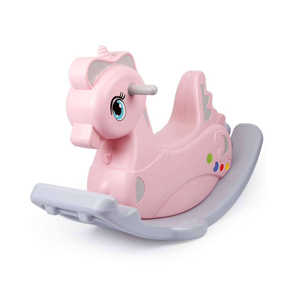 直送商品 子供ロッキングホース環境保護PE素材ロッキングホース赤ちゃん知育玩具ベビーロッキングクレードル (色 : Green) B07MVZTS3L B07MVZTS3L (色 Green) Pink Pink, 飛騨高山のふとん屋:a5759043 --- arianechie.dominiotemporario.com