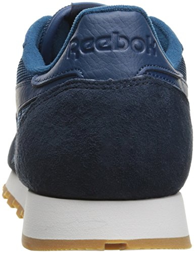 reputable site 5b003 0ad0e Reebok Men s CL Leather Spp Fashion Sneaker, Noble Blue Collegiate Navy,  10.5 M