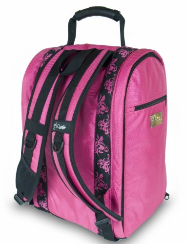 Glo Bag: Ladies Gym Locker Organizer Bag in Hot Pink