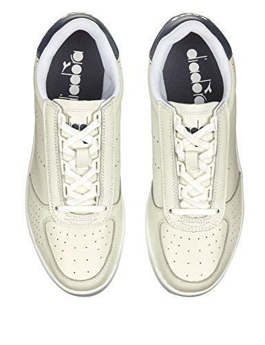 Premium Uomo L Bianc0 Elite B Sneaker a Collo Diadora Basso 8nESvqW6