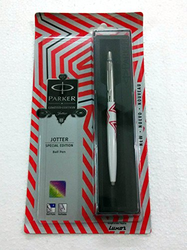 - Parker Jotter Special Edition Ct Ball Point Ballpen Wave Front Red Brand New Sealed Orginal Blue Ink