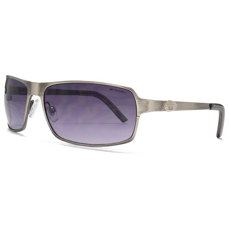 Animal Rand Flatsheet Metal Wrap Sonnenbrillen in Matte Gunmetal ANI014 vgCyRLsQzs