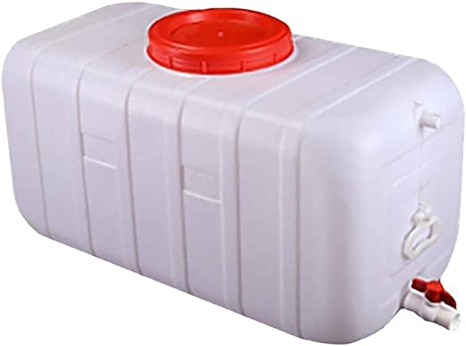 HWhome 25L Tanques De Agua El Plastico con Asa Sin BPA Contenedores De Almacenamiento De Agua con Grifo Almacenamiento De Agua en El Hogar Resistente A Ácidos Y Álcalis(25L/50L/100L/150L/200L/300L): Amazon.es: Hogar
