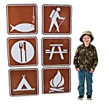 Camp Sign Cutouts - Vacation Bible School & Party Supplies