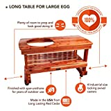 JJGeorge Big Green Egg Table