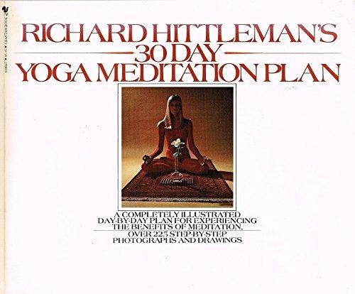 Richard Hittleman's 30 Day Yoga Meditation Plan