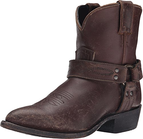 FRYE Women's Billy Harness Short Espresso Smooth Stone Wash Boot 8 B (M)