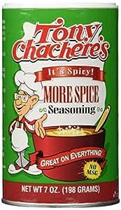 Tony Chachere's More Spice Seasoning (Single 7oz)