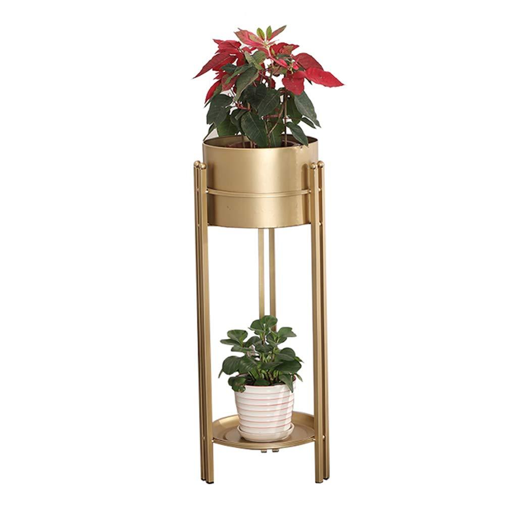 Mensola del Vaso di Fiori portaoggetti in Metallo Stile Europeo oro Vaso scaffalature cremagliera Giardino Display di stoccaggio scaffale Decorazione della casa Stand