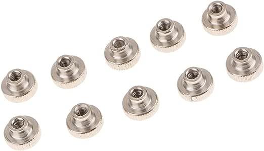 B Baosity - Lote de 10 Ruedas de Metal para Ajustar la Cama ...
