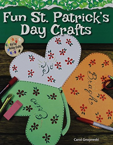 Fun St. Patrick's Day Crafts (Kid Fun Holiday Crafts!)