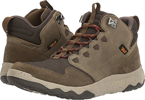 Teva Men's M Arrowood Mid Waterproof Hiking Boot, Dark Olive, 9 M US